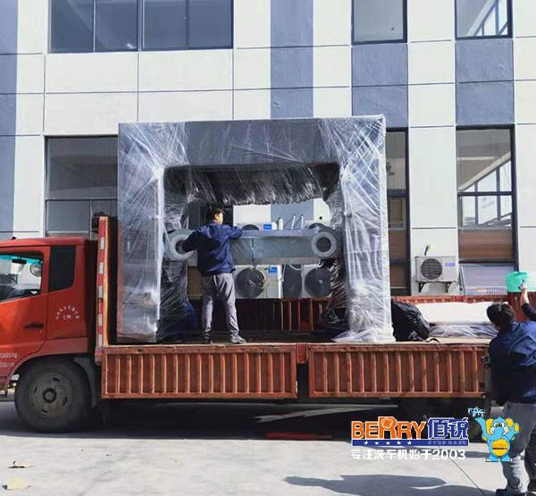发货现场:佰锐BR-5VF型贝博ios下载电脑ballbet贝博网页登录发往杭州市